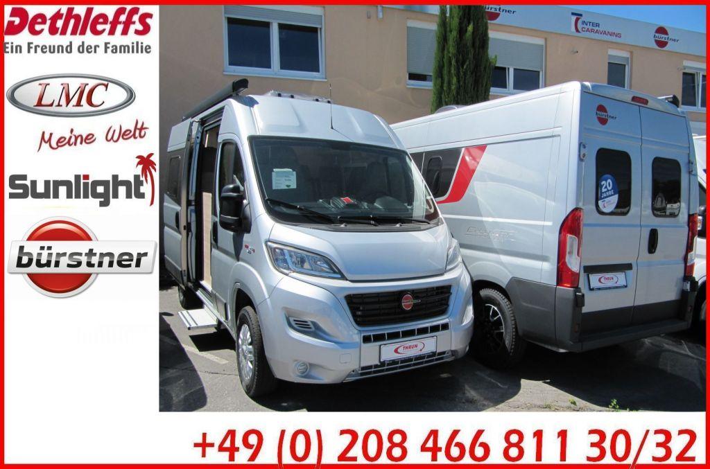 Bürstner City-Car C 600 Ex-Mietwagen-für-Oktober