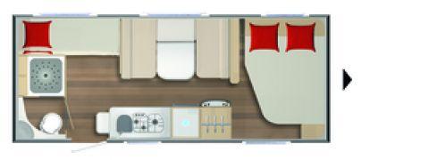 Bürstner Averso Harmony-Line 560 TK 2000 KG Auflastung
