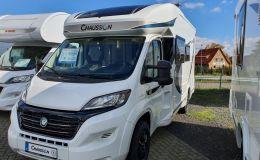 Chausson Teilintegrierte 650 Fiat Lounge/Hubbett/Heckbad
