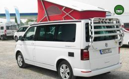 VW California Ocean Red 7-Gang DSG 204 PS