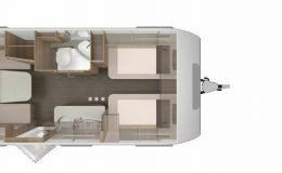 Knaus Sport 500 EU Silver Selection Silver Selection 2020, Einzelb. mobile autom. Antenne