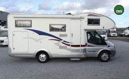 Eura Mobil Profila A 660 HB * Festbett-Sat.TV-Solar *