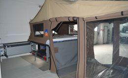 3DOG camping TrailDog 3DOG Zeltanhänger gebremst Küche, Fahrradhalter