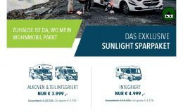 Sunlight A 70-4 70 4.000Kg/SAT/TV/Markise/3er
