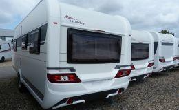 Hobby De Luxe 515 UHL 2000 kg Achse, Modell 2021