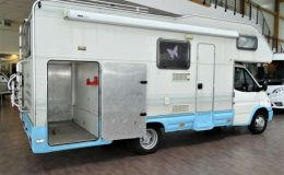 Rimor Europeo 77 TC / Festbett / Heckgarage / Sola