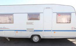 TEC Travel King 535 TE TÜVneu, Fahrradträger, Vorzelt