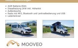 Mooveo Camper 3 Bestellfahrzeug