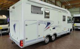 Frankia I 700 BD - Festbett+Hubbett - Garage
