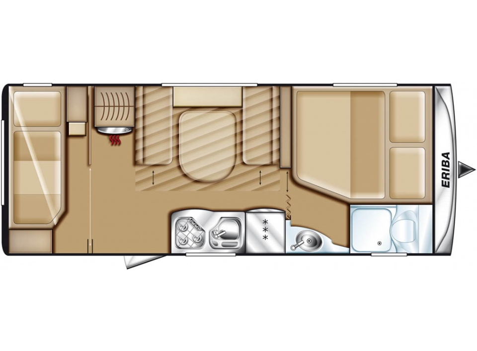 hymer eriba exciting 560 als pickup camper in geschwenda bei. Black Bedroom Furniture Sets. Home Design Ideas
