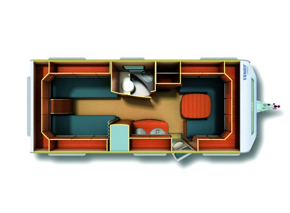 fendt bianco 540 sg als pickup camper in l rrach bei. Black Bedroom Furniture Sets. Home Design Ideas