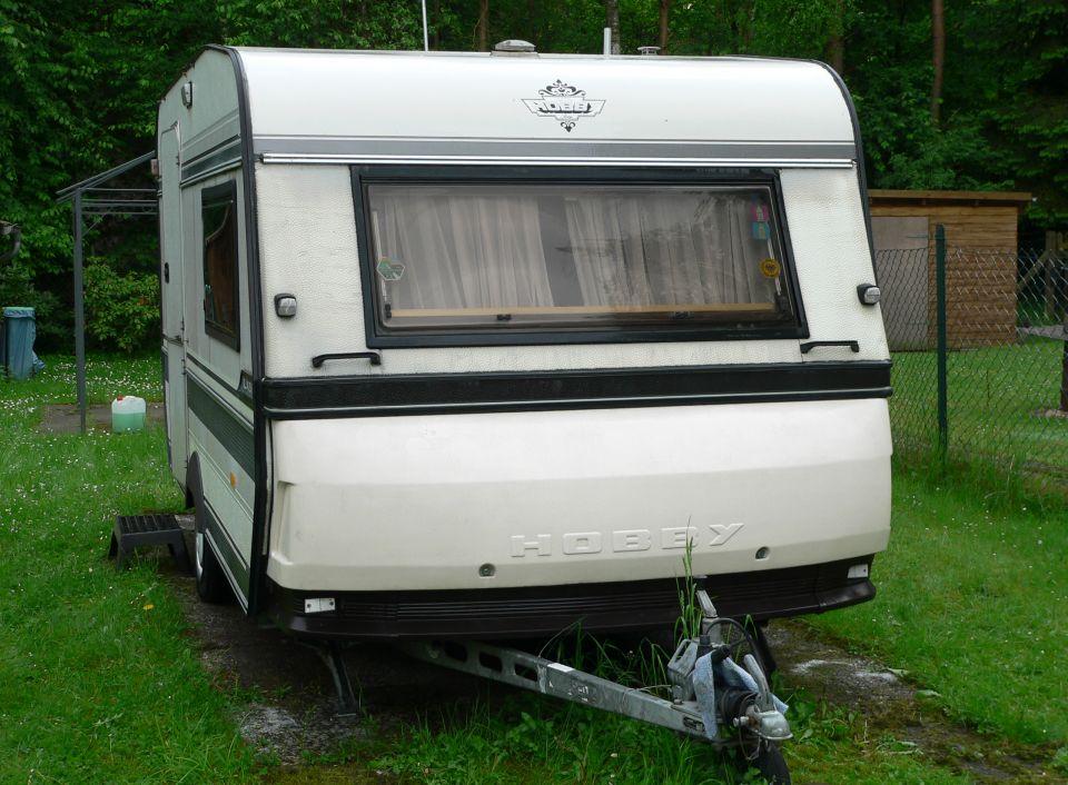 hobby prestige 425 als pickup camper bei. Black Bedroom Furniture Sets. Home Design Ideas