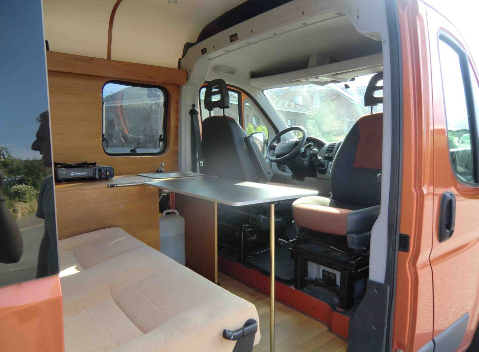 sonstige sonstige fiat ducato selbstausbau als kastenwagen. Black Bedroom Furniture Sets. Home Design Ideas