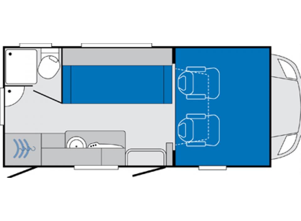 knaus sky traveller 500 d als alkoven in wietmarschen. Black Bedroom Furniture Sets. Home Design Ideas