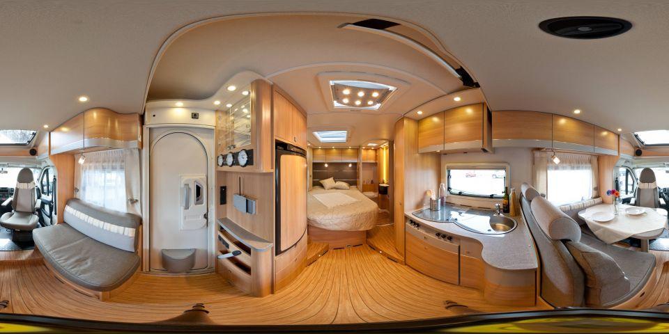 dethleffs globe4 t 6801 4 als teilintegrierter in. Black Bedroom Furniture Sets. Home Design Ideas