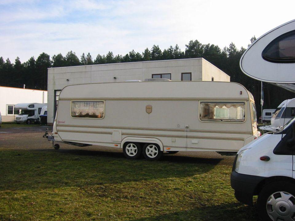 Weippert classic s 660 d als pickup camper in wandlitz for Wohnwagen mit klimaanlage