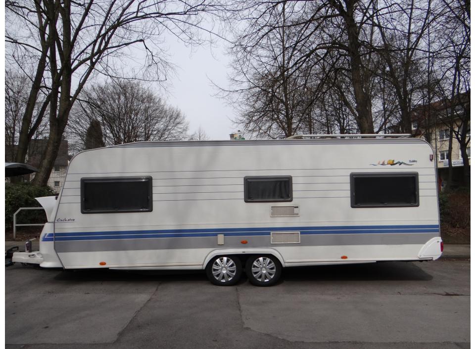 hobby exclusive 610 ul als pickup camper bei. Black Bedroom Furniture Sets. Home Design Ideas