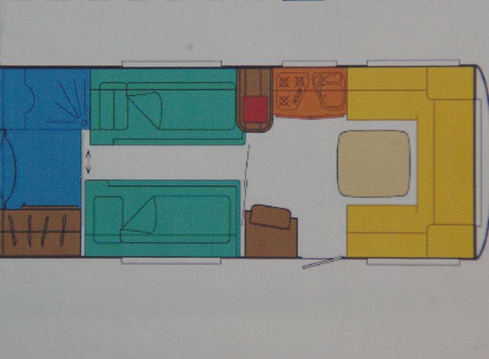 Wohnwagen Dusche Warmwasser : TEC Weltbummler Creation 510 HTE als Pickup-Camper bei caraworld.de
