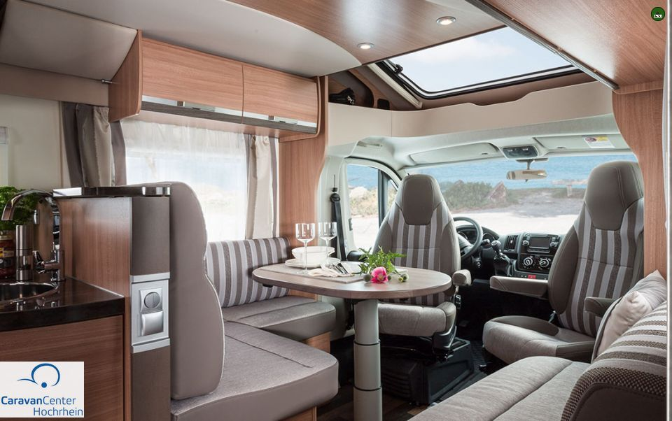 knaus sky wave 650 mf als teilintegrierter in laufenburg bei. Black Bedroom Furniture Sets. Home Design Ideas
