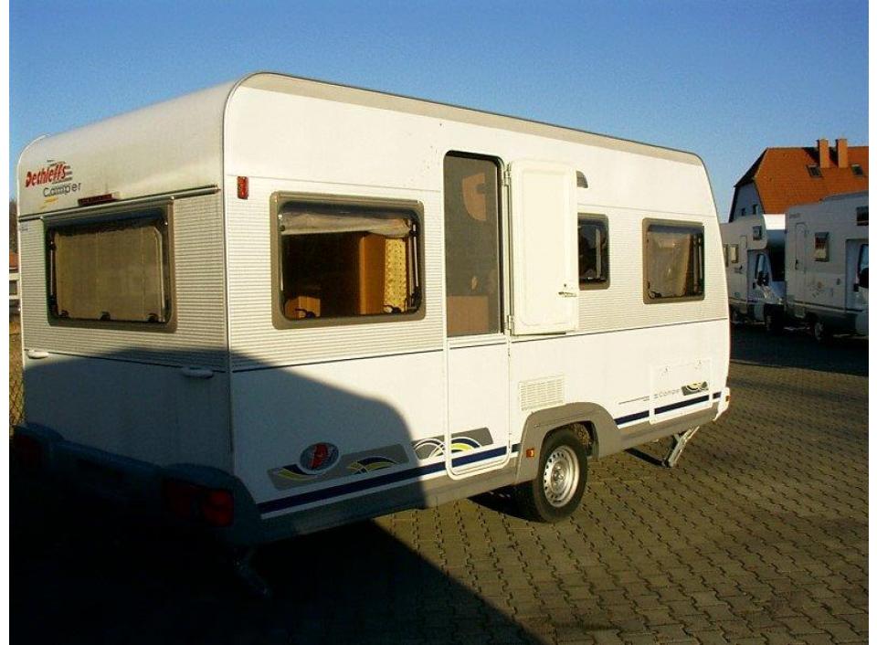 dethleffs camper 460 db als pickup camper bei. Black Bedroom Furniture Sets. Home Design Ideas