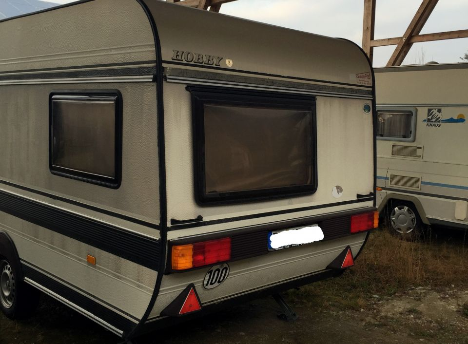 hobby classic 420 tm als pickup camper bei. Black Bedroom Furniture Sets. Home Design Ideas
