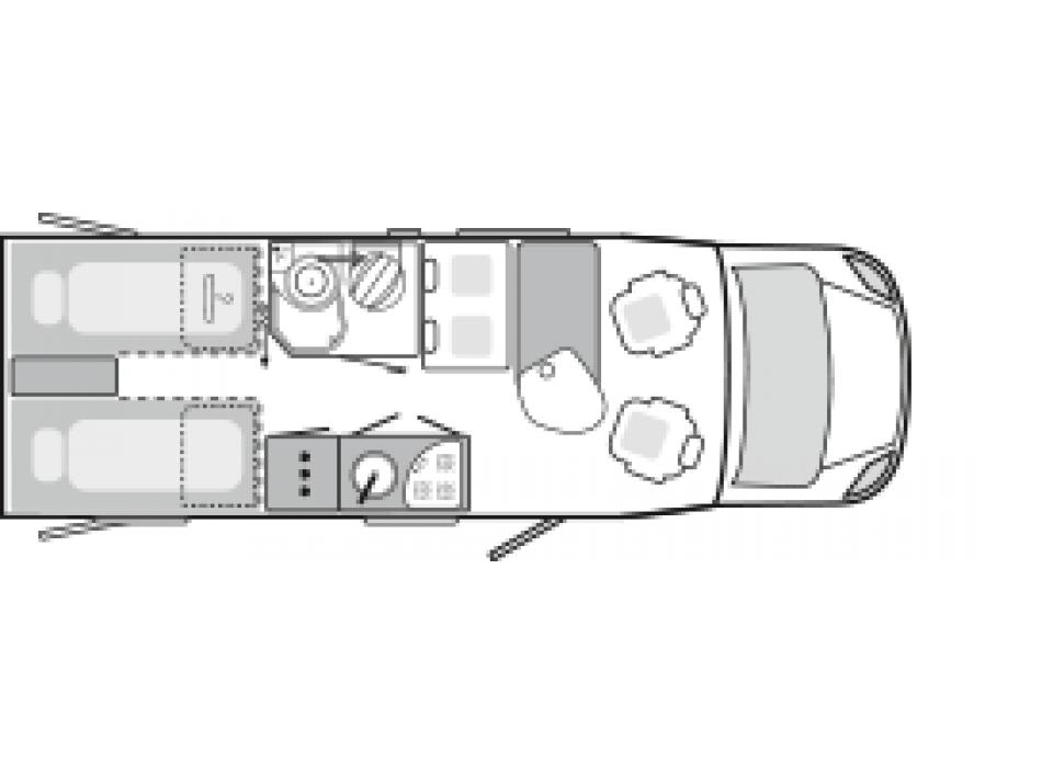 weinsberg caracompact 600 meg als teilintegrierter in cloppenburg bei. Black Bedroom Furniture Sets. Home Design Ideas