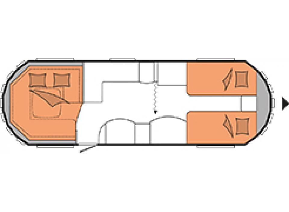 hobby landhaus 770 cl als pickup camper in ascheberg bei. Black Bedroom Furniture Sets. Home Design Ideas