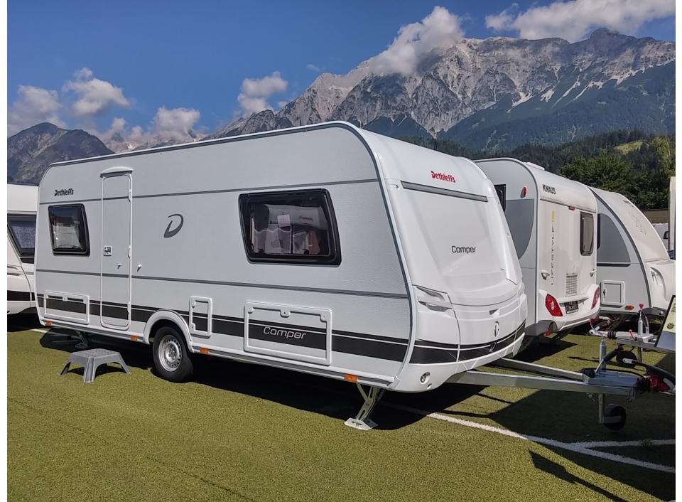 dethleffs camper 510 er als pickup camper in wattens bei. Black Bedroom Furniture Sets. Home Design Ideas