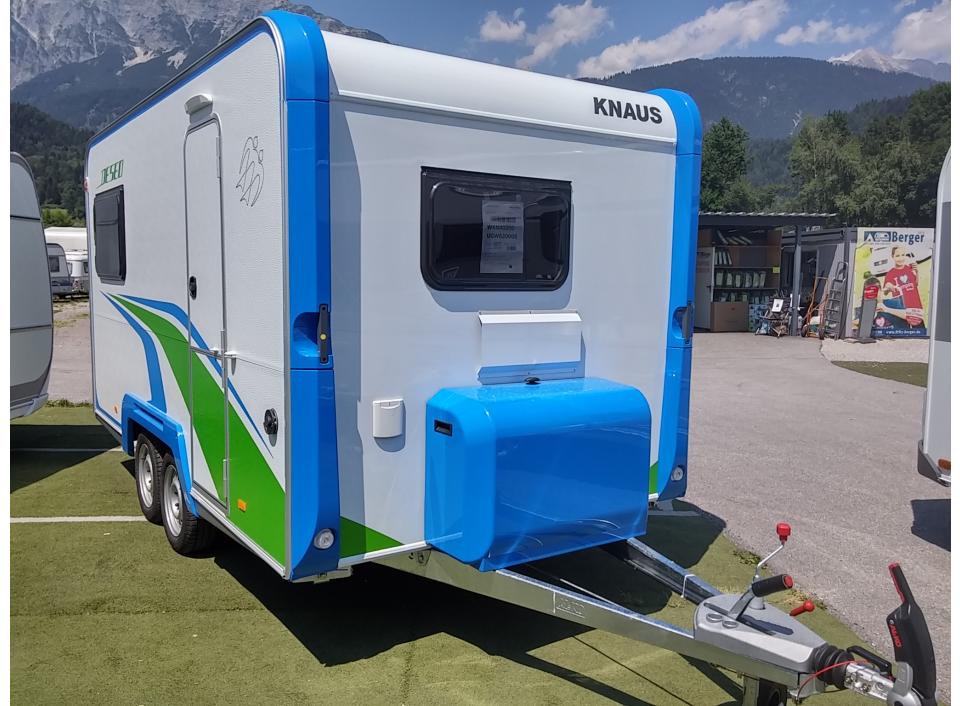 Knaus Deseo Deseo transport plus als Pickup-Camper in