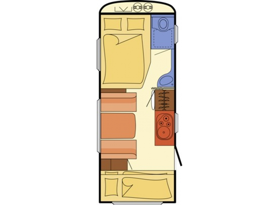 dethleffs summer edition 505 fsk als pickup camper in wuppertal ronsdorf bei. Black Bedroom Furniture Sets. Home Design Ideas