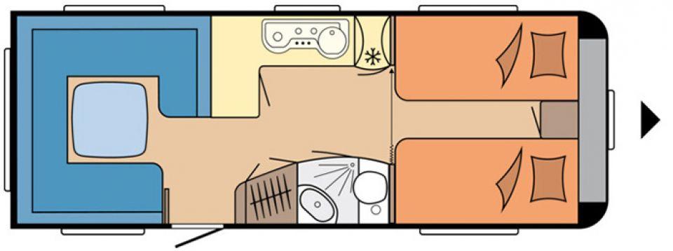 hobby prestige 620 cl als pickup camper in otterstadt bei. Black Bedroom Furniture Sets. Home Design Ideas