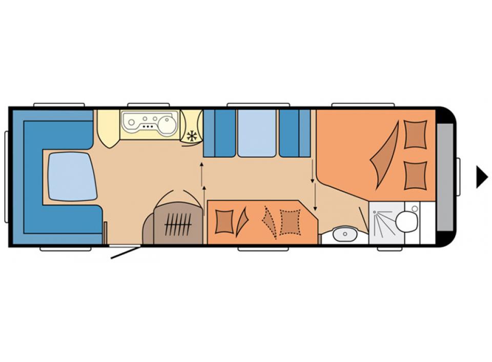 hobby prestige 720 ukfe als pickup camper in lensahn bei. Black Bedroom Furniture Sets. Home Design Ideas