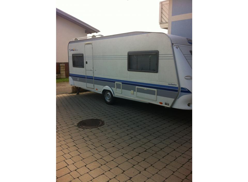 hobby exclusive 540 ufe als pickup camper bei. Black Bedroom Furniture Sets. Home Design Ideas