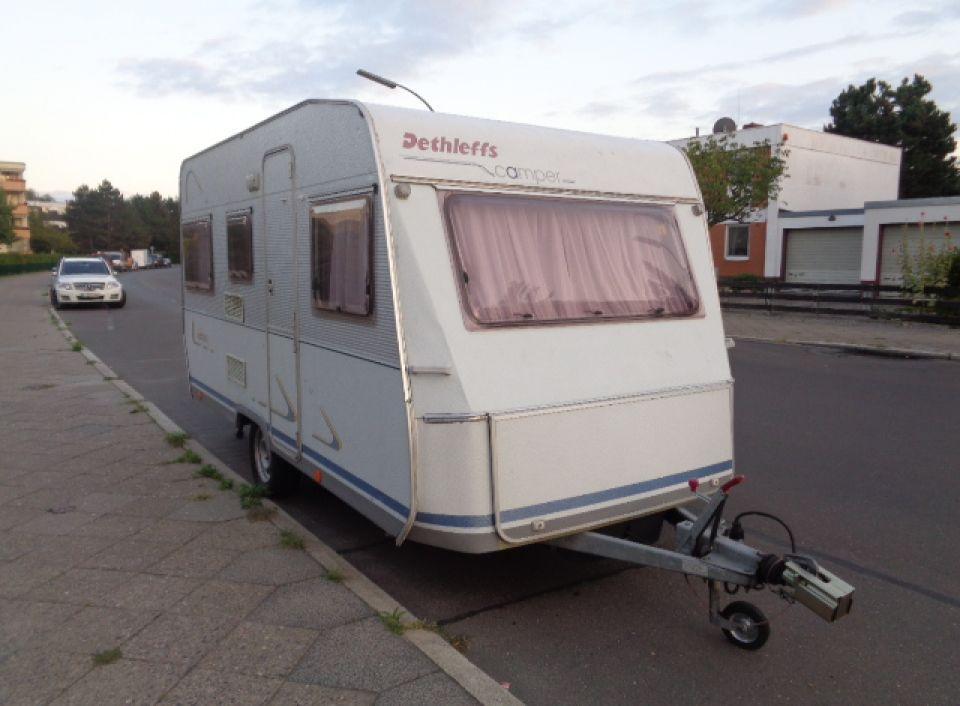 dethleffs camper rd 3 als pickup camper bei. Black Bedroom Furniture Sets. Home Design Ideas