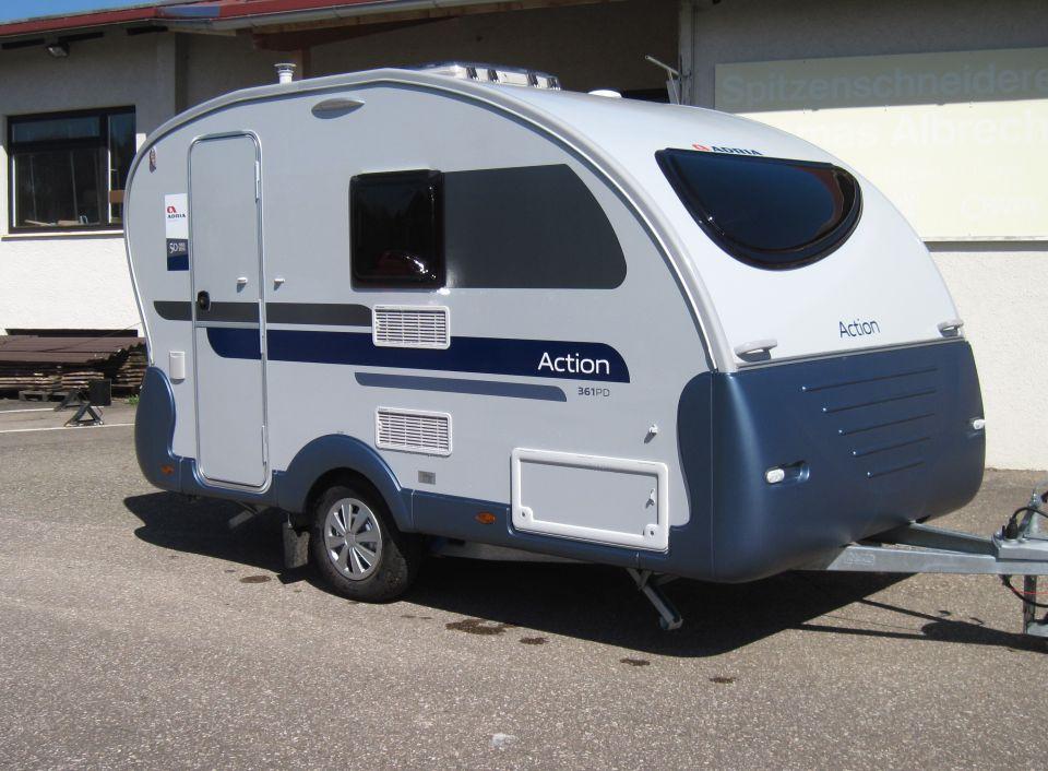 adria action 361 pd als pickup camper in m nsingen. Black Bedroom Furniture Sets. Home Design Ideas