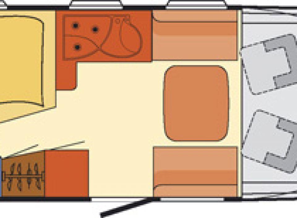 dethleffs advantage i 6401 als integrierter in engen bei. Black Bedroom Furniture Sets. Home Design Ideas
