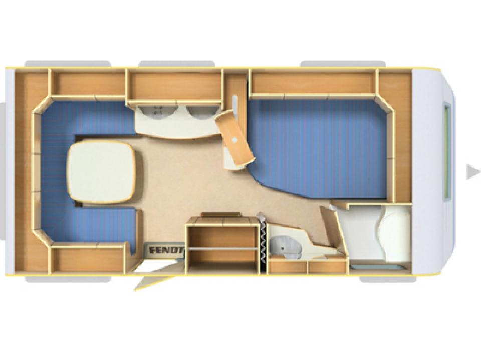 fendt saphir 470 tfb als pickup camper in paderborn bei. Black Bedroom Furniture Sets. Home Design Ideas