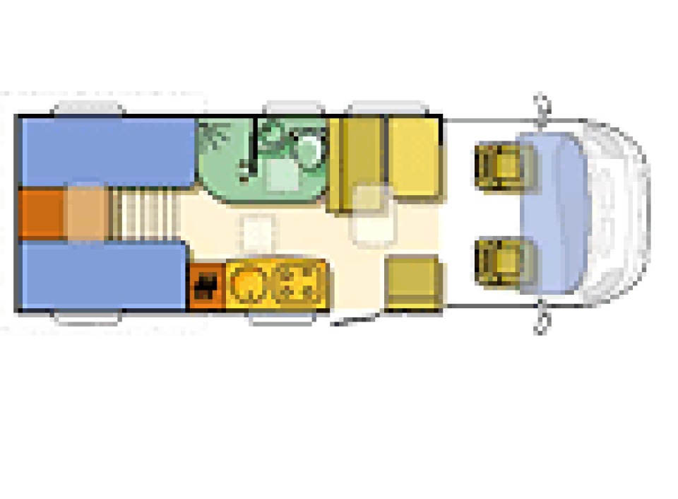 adria coral 660 sl als teilintegrierter in lutherstadt. Black Bedroom Furniture Sets. Home Design Ideas