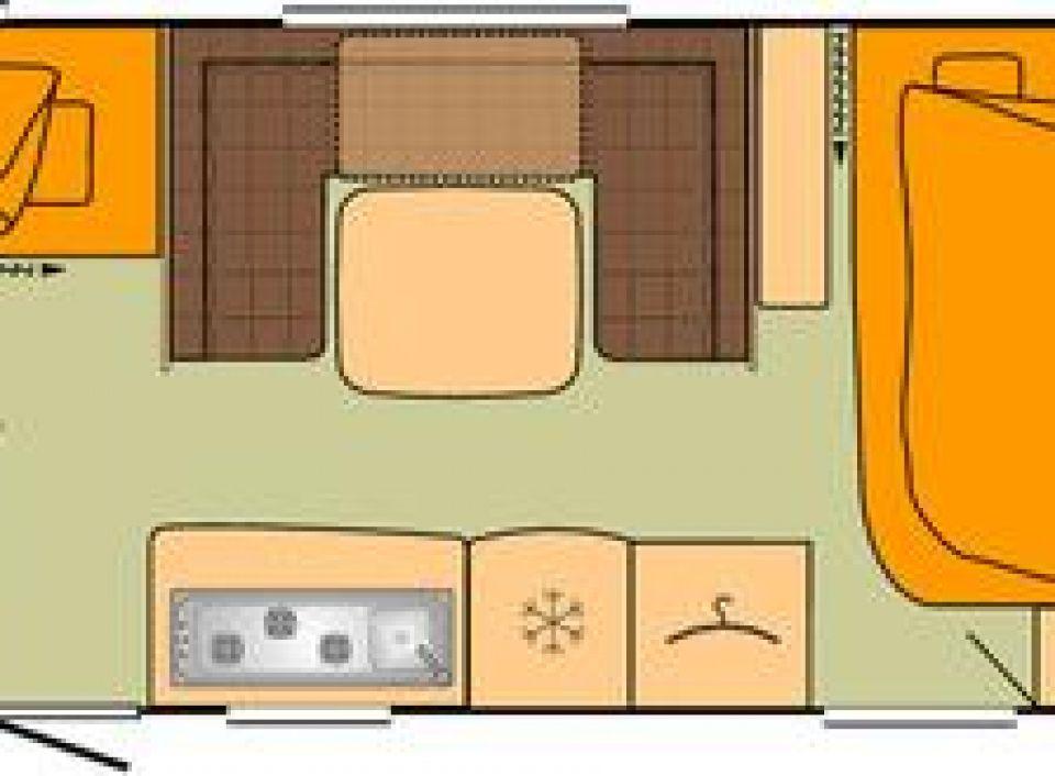 Bürstner Belcanto 560 TK 3. Etagenbett+Vollausstattung - Bild 2