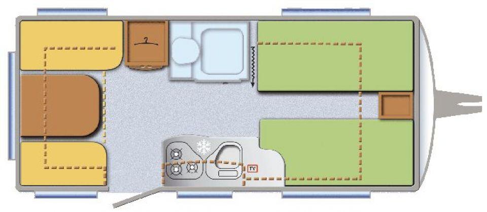 tec weltbummler aktiv 470 te als pickup camper in. Black Bedroom Furniture Sets. Home Design Ideas