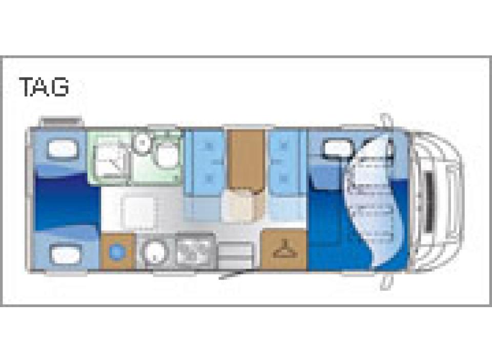 roller team zefiro 275 als alkoven in todtnau bei. Black Bedroom Furniture Sets. Home Design Ideas