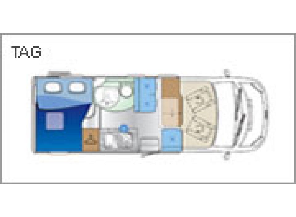 roller team auto roller garage p als teilintegrierter in. Black Bedroom Furniture Sets. Home Design Ideas