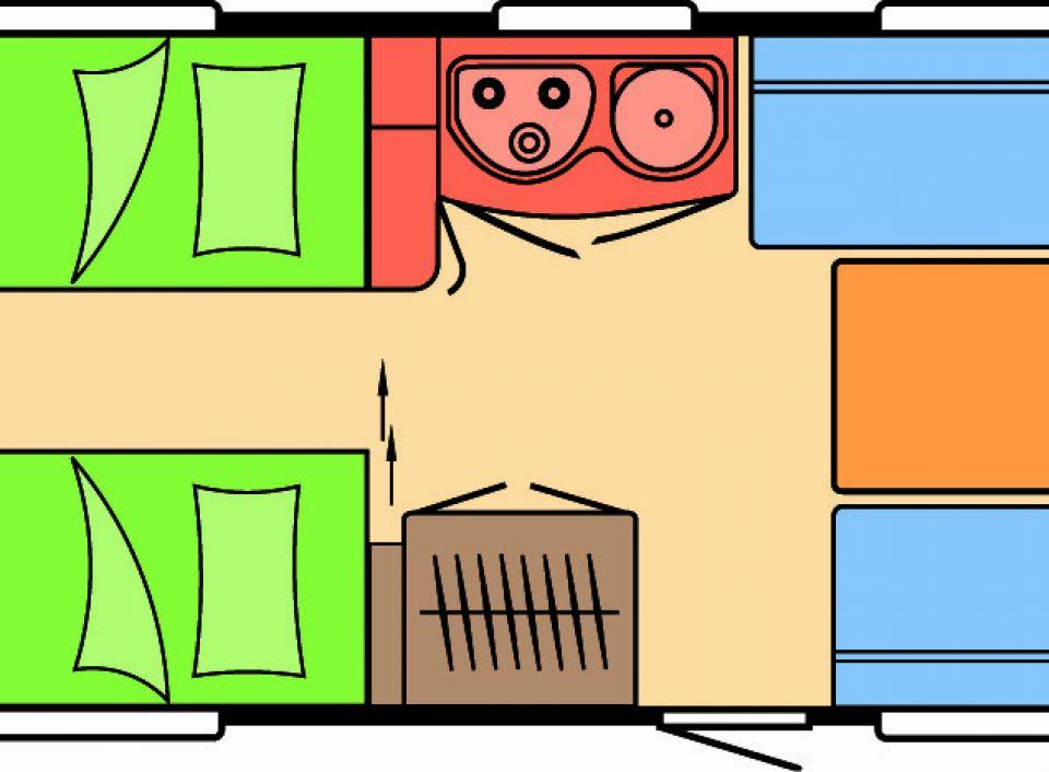 hobby prestige 540 wlu als pickup camper in wuppertal bei. Black Bedroom Furniture Sets. Home Design Ideas