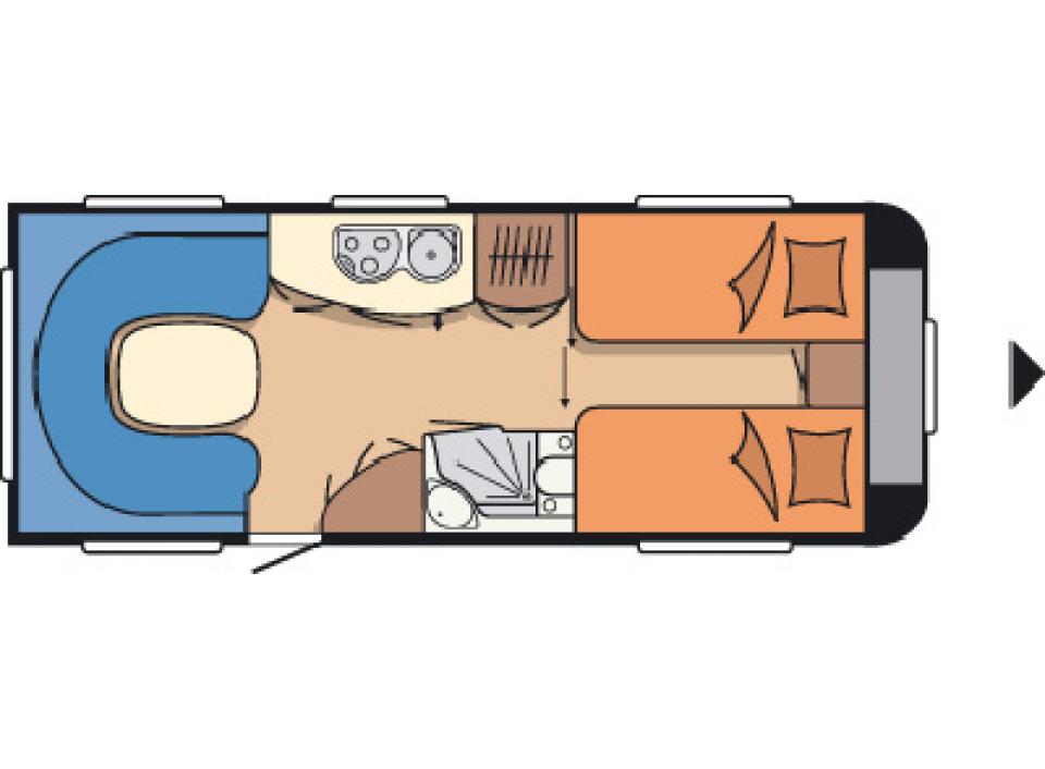 hobby prestige 610 ul als pickup camper in m llrose bei. Black Bedroom Furniture Sets. Home Design Ideas