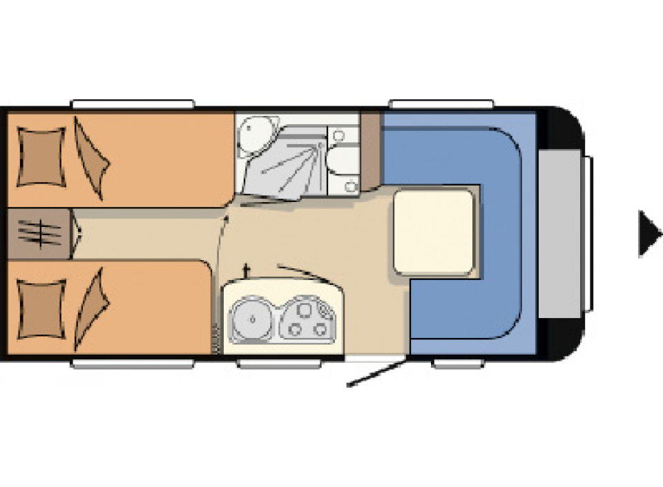 hobby excellent 460 lu als pickup camper in geschwenda bei. Black Bedroom Furniture Sets. Home Design Ideas