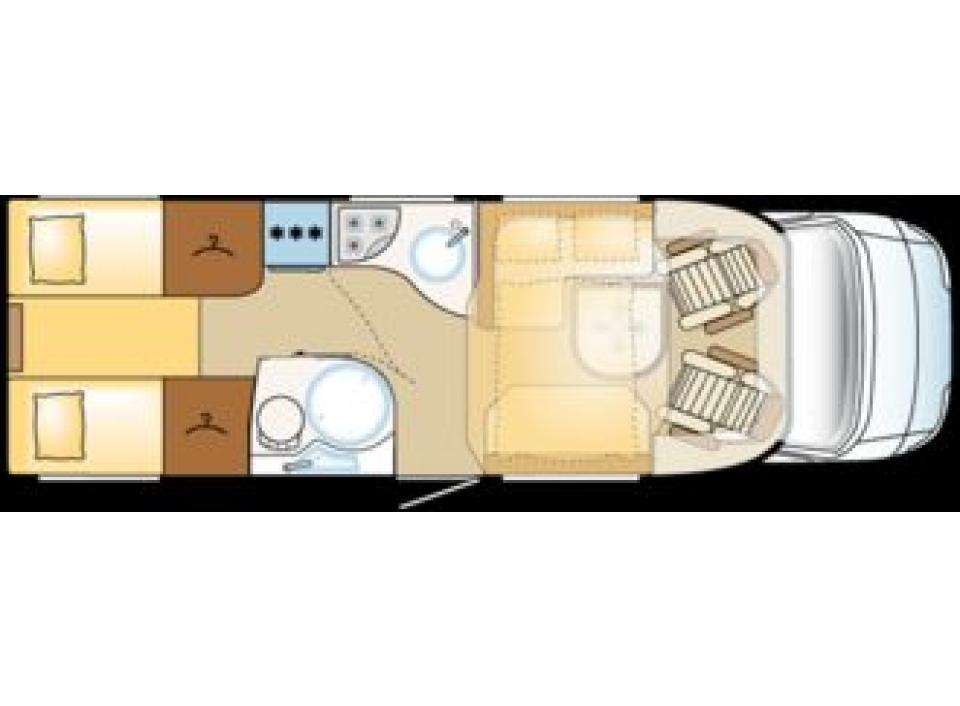 carthago chic c line t plus 4 8 h als teilintegrierter in bocholt bei. Black Bedroom Furniture Sets. Home Design Ideas