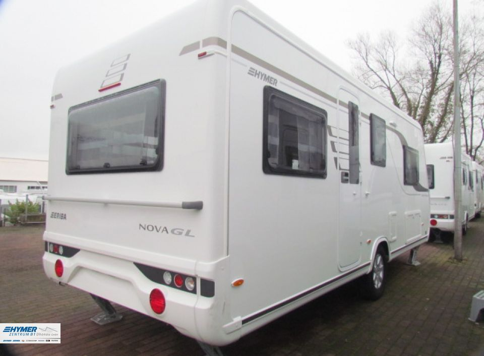 Hymer Eriba Nova GL 530 als PickupCamper in MülheimRuhr