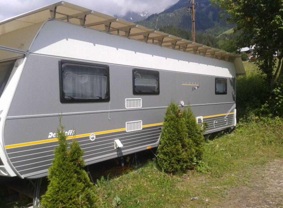 dethleffs camper snow 750 dbm als pickup camper bei. Black Bedroom Furniture Sets. Home Design Ideas