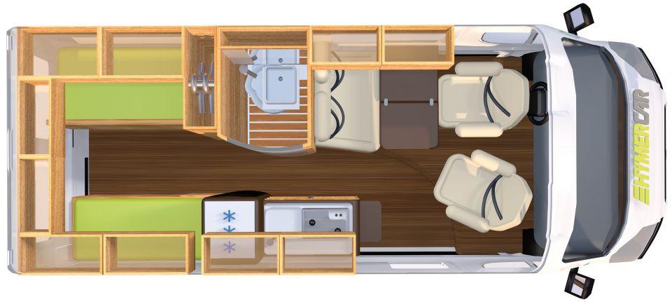 hymercar hymercar grand canyon als kastenwagen in gr fendorf weickersgr ben bei. Black Bedroom Furniture Sets. Home Design Ideas