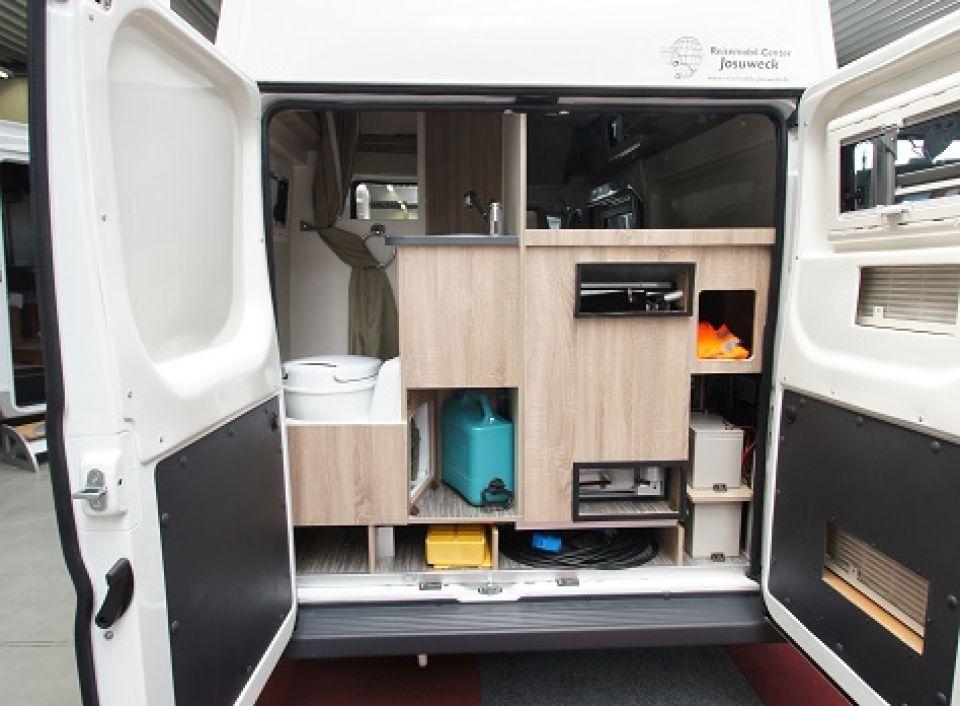 karmann mobil dexter 550 als kastenwagen in witten bei. Black Bedroom Furniture Sets. Home Design Ideas